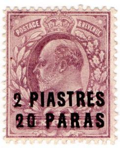(I.B) Lebanon Postal : British Levant 2pi 20pa OP