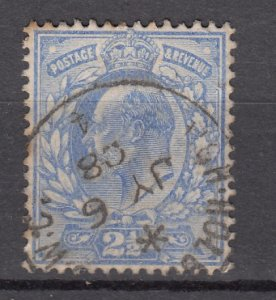 J27541 1902-11 great britain used #131 king