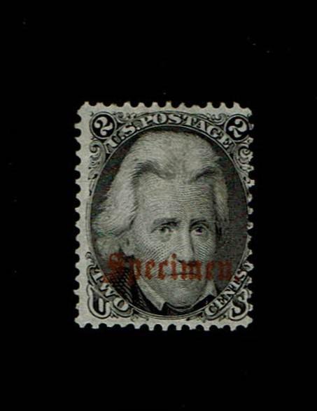 Scott #73 S-B Fine-unused, without gum. SCV - $350.00