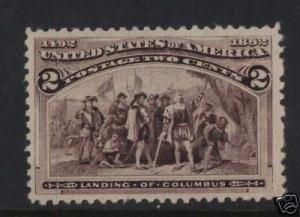 USA #231 VF/NH