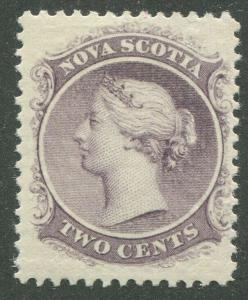 NOVA SCOTIA #9 MINT VF