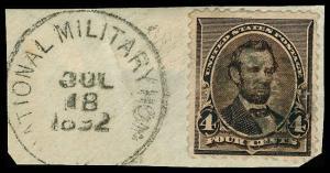 U.S. POST 1890 CANCELS 222  Used (ID # 68531)