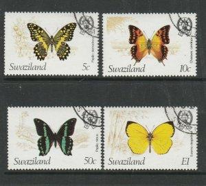 Swaziland 1982 Butterflies VFU/CTO SG 393/6