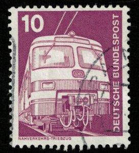 Deutsche Bundespost, 10 Pfg. (T-7514)