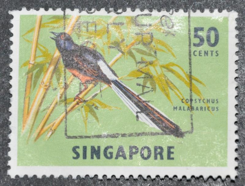 DYNAMITE Stamps: Singapore Scott #66a – USED