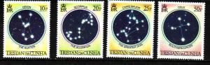 D3-Tristan Da Cunha-Scott#356-9-unused NH set-Stars-Constell
