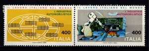 Italy 1983 Italian Work for the World, Automobile Industry Set [Mint]