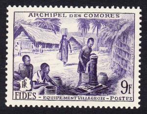 Comoro Is. Economic Development 1v SG#18 SC#43 MI#37