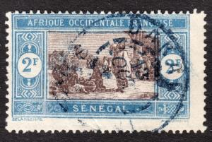 Senegal Scott 120  Fine used.