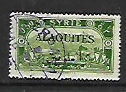 ALAOUITES, 27, USED, STAMPS OF SYRIA 1925 OVPTD