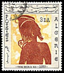 Algeria 368, used, Wall Paintings