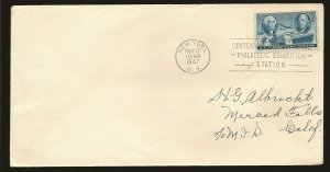 USA 947 Postage Stamp Centennial 1947 First Day Cover Used