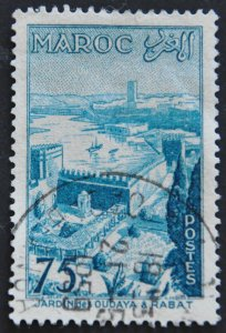 DYNAMITE Stamps: French Morocco Scott #327 - USED
