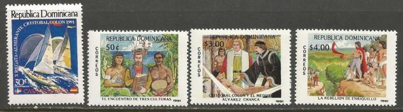 Dominican Republic 1104-07 MNH COLUMBUS 619F-2