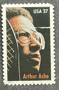 US 2005 Arthur Ashe Champion Tennis Black HIstory USED single #3936