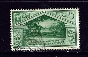 Italy 250 Used 1930 Issue