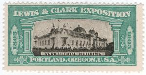 (I.B) US Cinderella : Lewis & Clark Exposition 1903 (Agricultural Building)