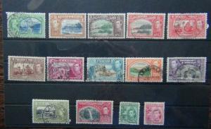 Trinidad & Tobago 1938 - 1944 set to $4.80 Used