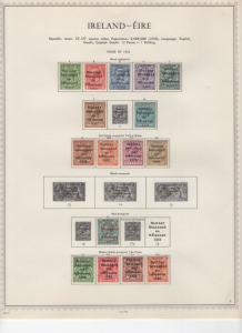 IRELAND COLLECTION 1922 TO 1973 MINT VERY LIGHT HINGE SCOTT OVER $1500.00