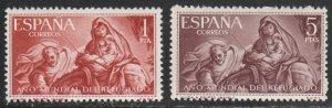 Spain MH 969-70 Religious Art