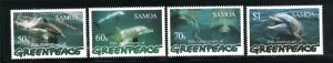 Samoa 943-46   M NH VF 1997 PD
