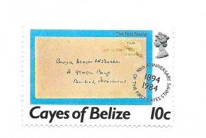 Cayes of Belize 1984 - MNH - Scott #18 *