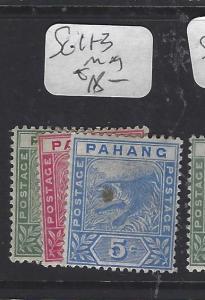 MALAYA PAHANG  (PP0510B)  TIGER  SG 11-3   MOG