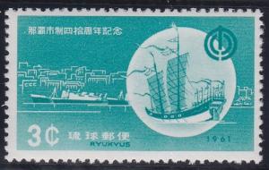 Ryukyu Islands 89 MNH (1961)