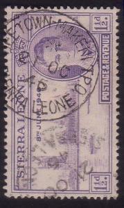 SIERRA LEONE 1946 Victory 1½d FREETOWN - MAKENI TPO cds....................60245