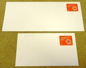 U577, 2c U.S. Postage Envelope qty 2