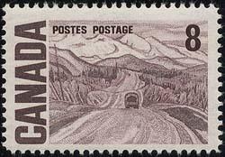 Canada - 1971 8c Alaska Highway mint #461ii
