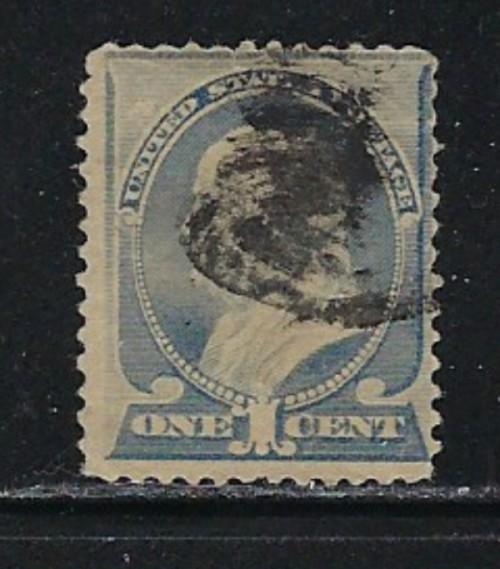 U.S. 212 Used  1887 issue