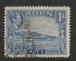 ADEN - Scott 18 - Aden Scenes - 1939- Used - Single 1a Stamp