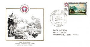 Togo, Worldwide First Day Cover, Americana
