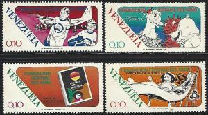 Venezuela #1050-1053 Mint Hinged Full Set of 4