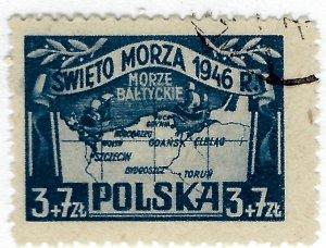Poland SC B47 Used F-VF SCV$13.00...Popular Country!