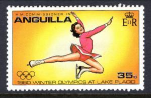 Anguilla 377 Olympics Figure Skating MNH VF
