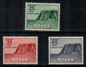 Norway Scott B59-61 Mint NH (Catalog Value $23.00)