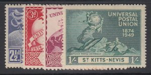 ST. KITTS-NEVIS, Scott 95-98, MNH