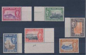 1941 Hong Kong, Centenary Of British Occupation, Sg 163/168 Set Of 6 MNH Set