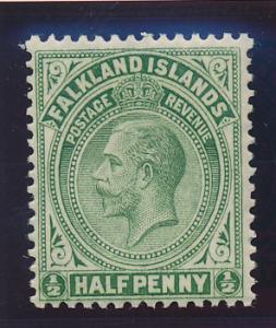 Falkland Islands Stamp Scott #30, Mint Hinged - Free U.S. Shipping, Free Worl...