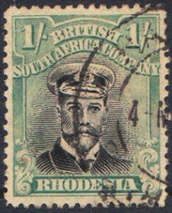 Rhodesia Scott 131 Used.
