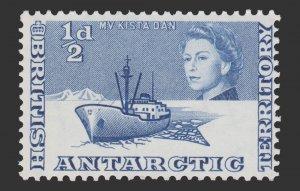 BRITISH ANTARTICA 1963 SCOTT # 1 . UNUSED