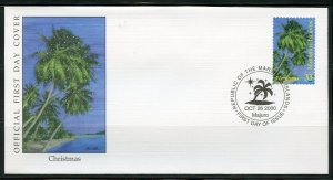 MARSHALL ISLANDS 2000 CHRISTMAS  FIRST DAY COVER