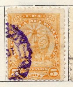 Paraguay 1904-06 Early Issue Fine Used 5c. 125294