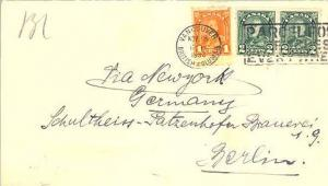 Canada 1c KGV Arch and 2c KGV Arch Coil Pair 1930 Vancouver, British Columbia...