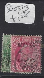 INDIA CHAMBA  (PP2410B)  KE  SERIVICE  1/2A-1A   SG O32-3   VFU