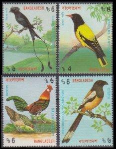 1994 Bangladesh 485A-488A Birds 5,50 €