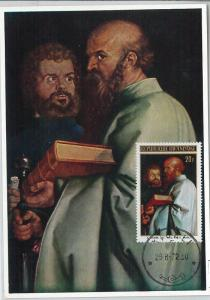 62820 - RWANDA - POSTAL HISTORY: MAXIMUM CARD 1972 - ART: DURER