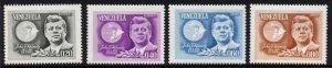 Venezuela 884-5, C9001- MNH John F. Kennedy, Alliance for Progress